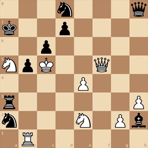Любишь в шахматы играть? Нужно белым мат здесь дать