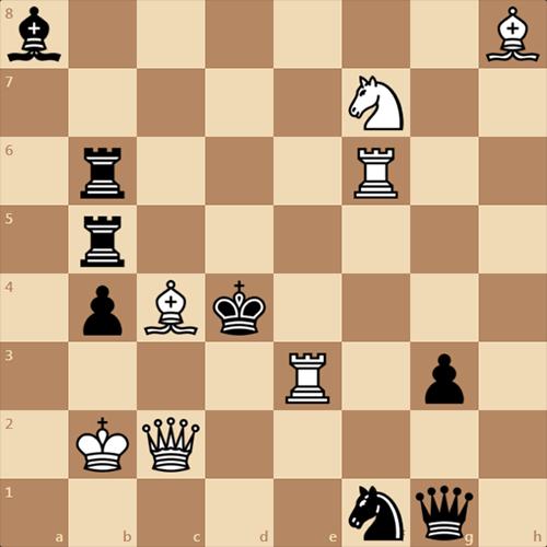 Мат в 2 хода. Как решить эту позицию?