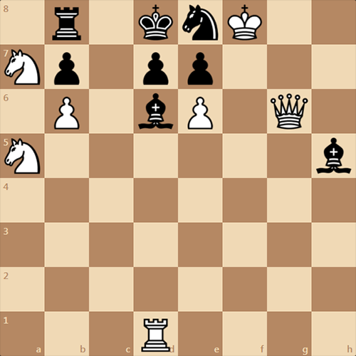 Новая задача от Ser1405, мат в 3 хода
