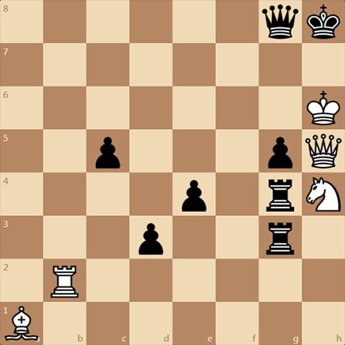 Мат в 1 ход от ChessOK