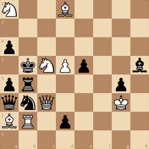 Двухфазный мат в 2 хода