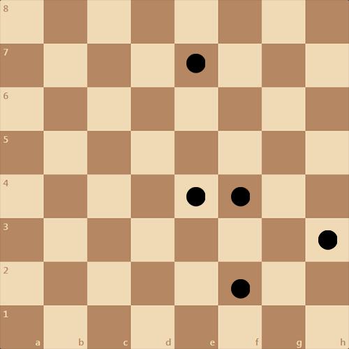Расставьте фигуры и дайте мат в 4 хода