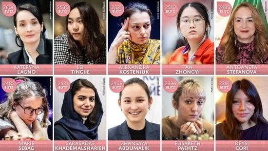 Состав женского турнира